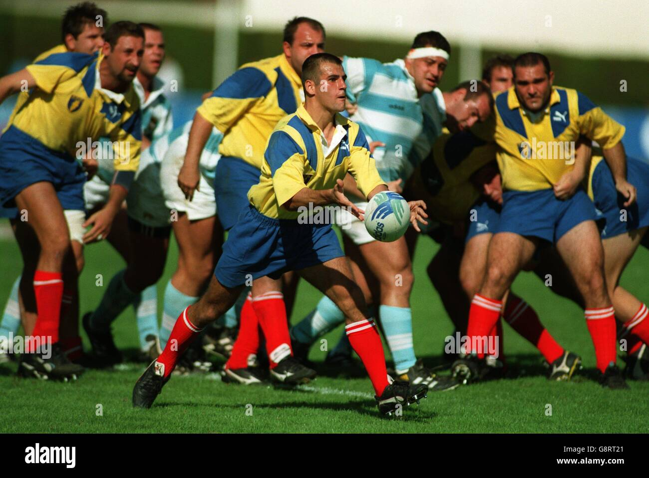 Rugby Union - Coupe Latine de France - Argentina v Romania - Stock Image