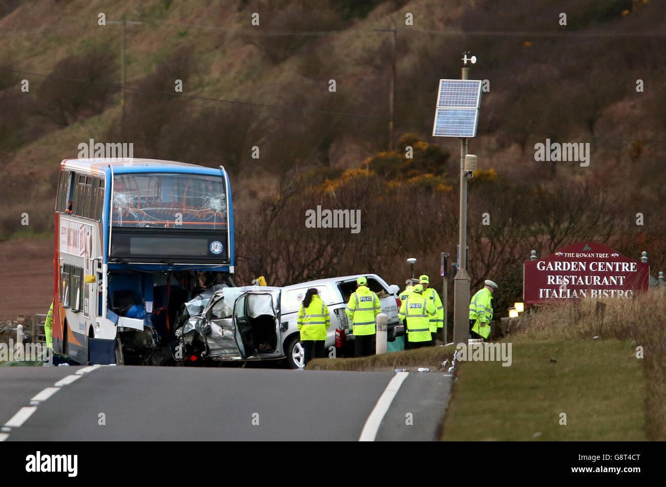 Double Bus Crash Stock Photos & Double Bus Crash Stock Images - Page ...