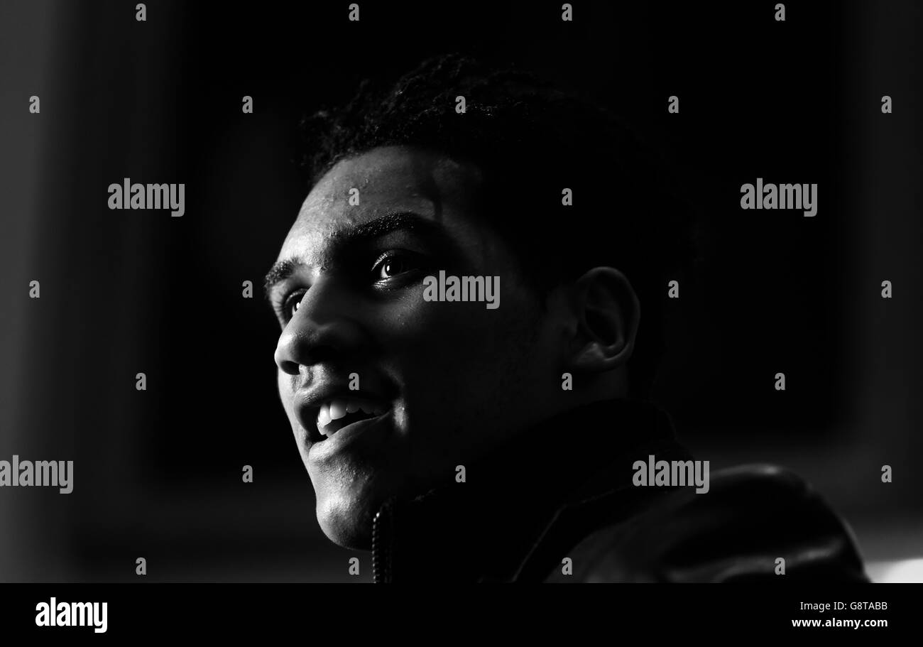 Conor Benn Press Conference - Trinity House - Stock Image