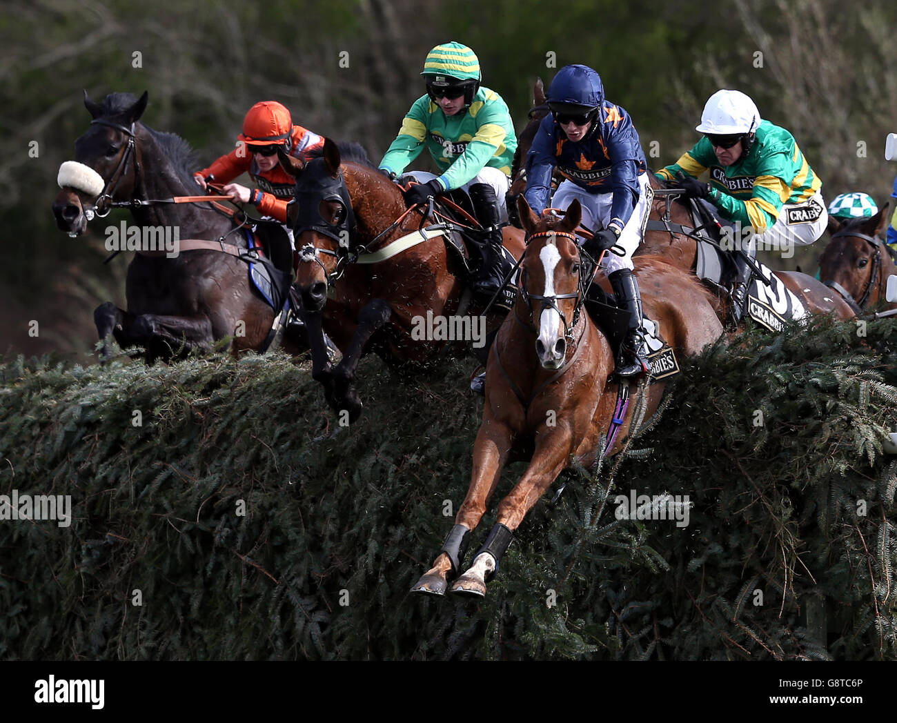 Ladies Day - Crabbie's Grand National Festival - Aintree Racecourse - Stock Image