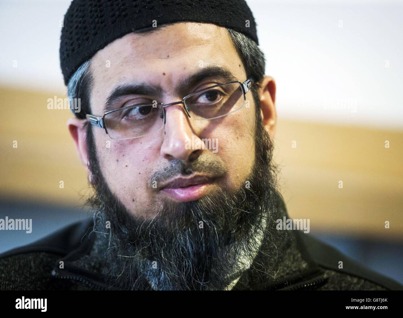 Asad Shah death - Stock Image