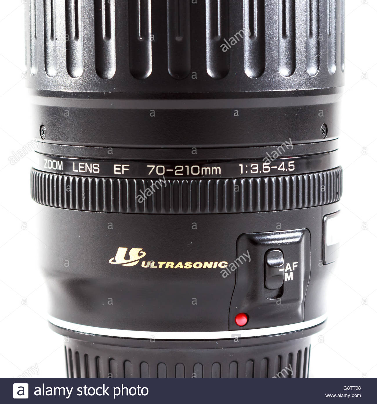 Canon EF 70-210mm f/3.5-4.5 USM lens made by Canon inc. - Stock Image