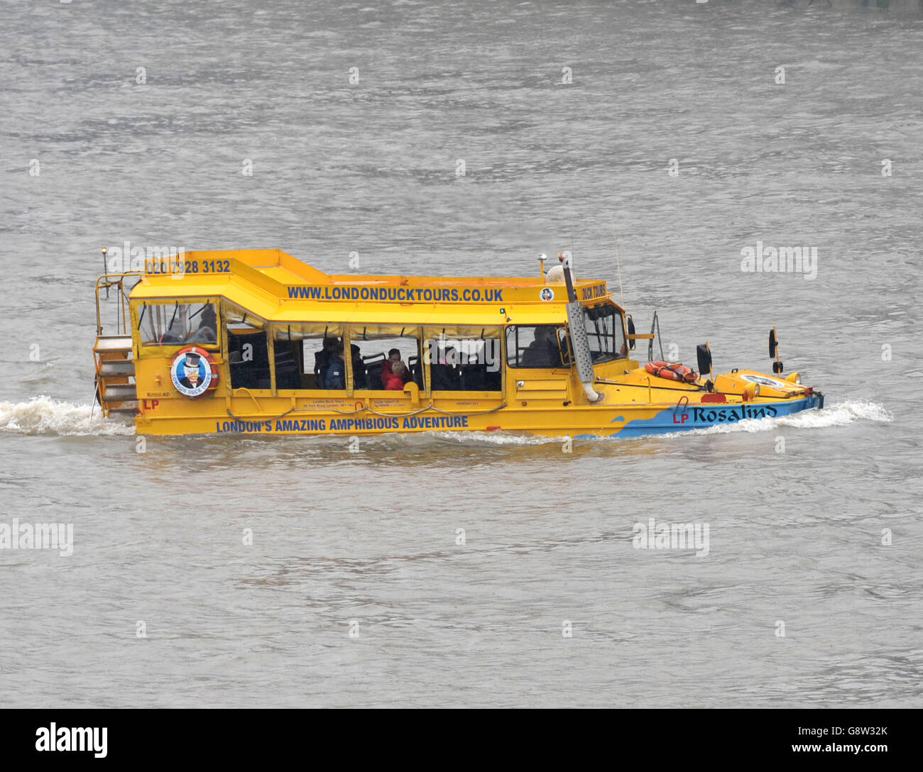 London Duck Tours - stock - Stock Image