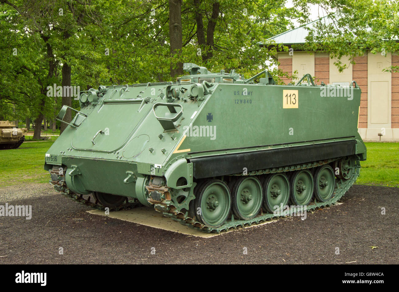M113 Armored Personnel Carrier (APC) - Stock Image