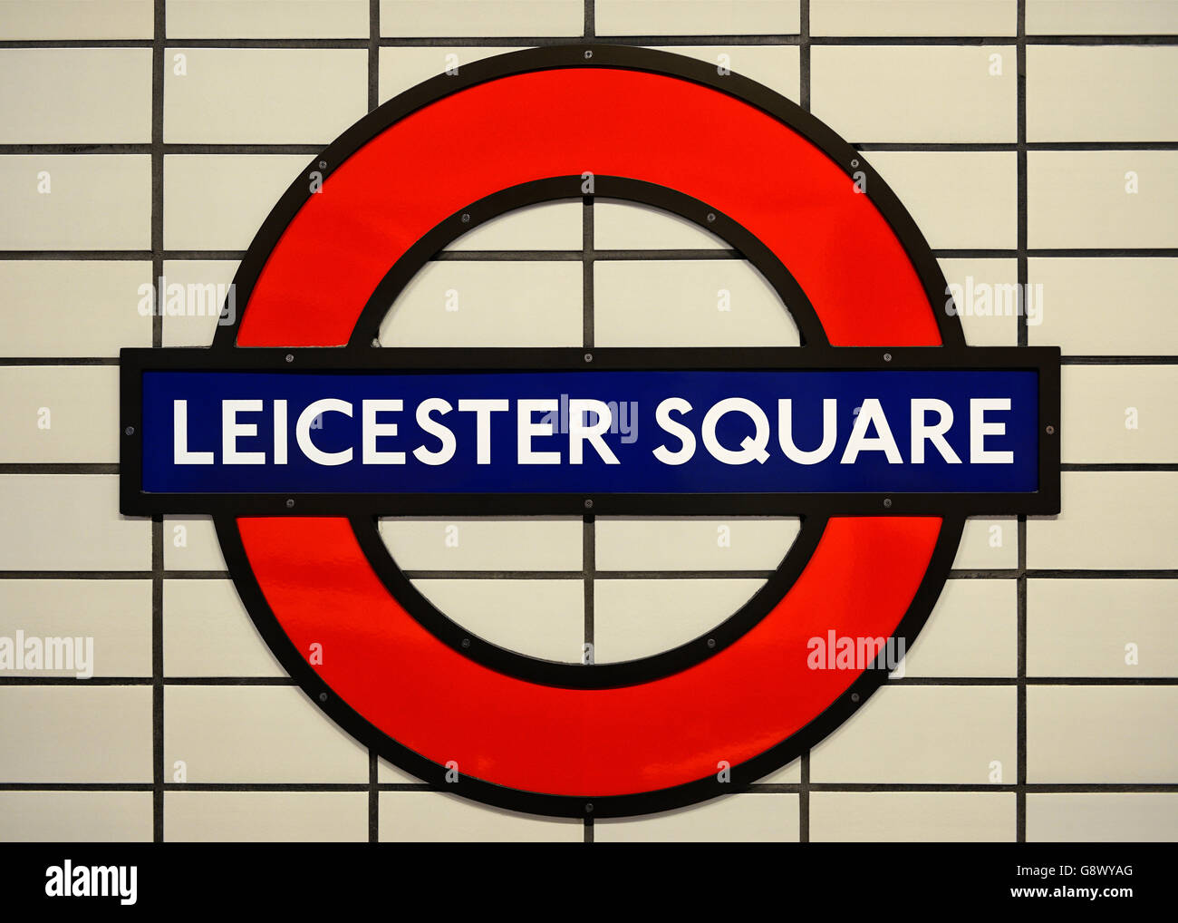 Leicester Square Underground Station Stock Photos Leicester Square