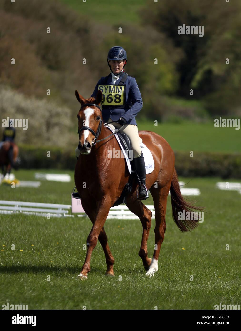 2016 Symm International Horse Trials - Day Three - Hambleden - Stock Image