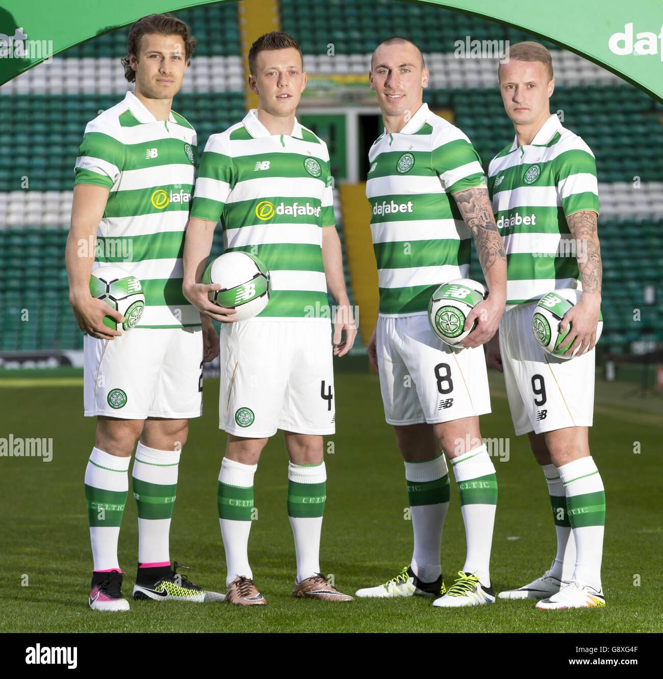 Celtic Fc Kit Launch Celtic Park Stock Photo Alamy