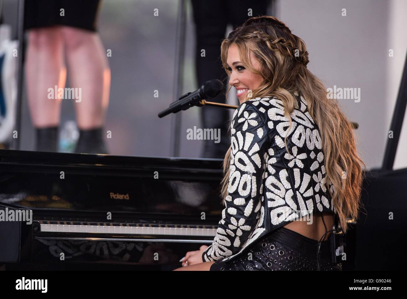 New York, NY, USA  1st July, 2016  Rachel Platten on stage