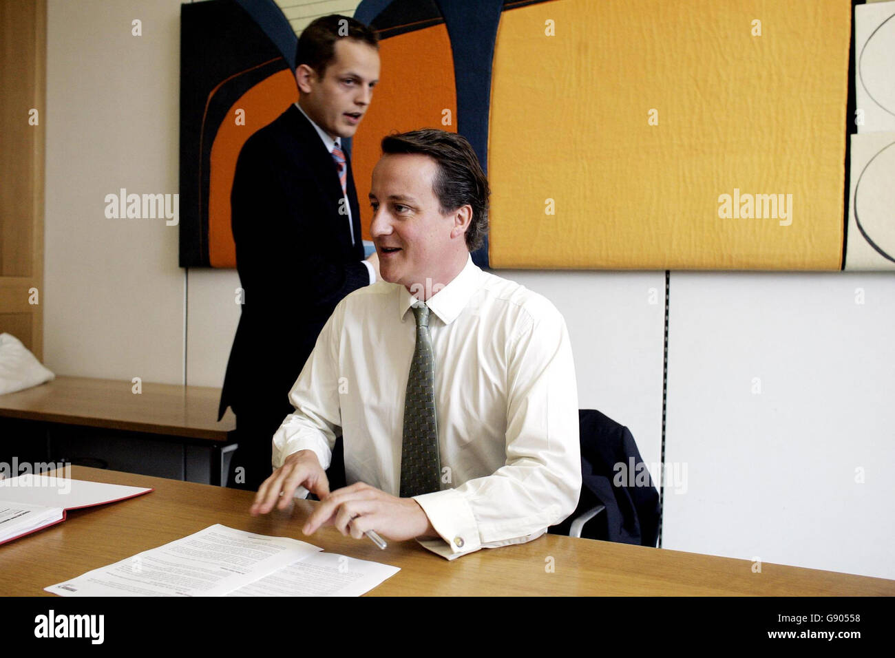 POLITICS Tories Stock Photo