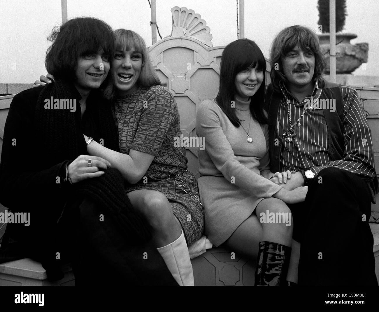 Music - Deep Purple - Dorchester Hotel, London - 1969 Stock Photo
