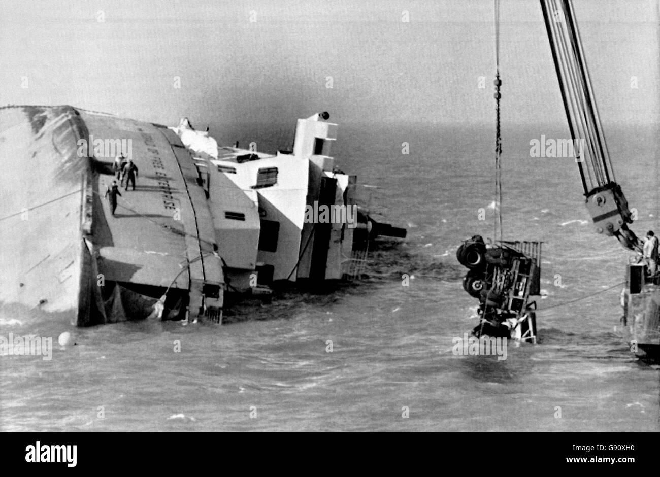 Herald of Free Enterprise Disaster Stock Photo: 108814972 ...