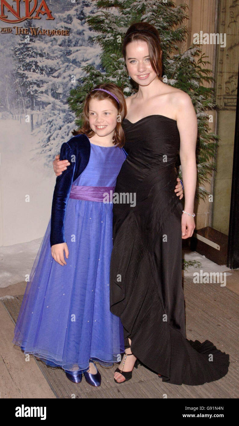The Chronicles of Narnia Premiere Stock Photo