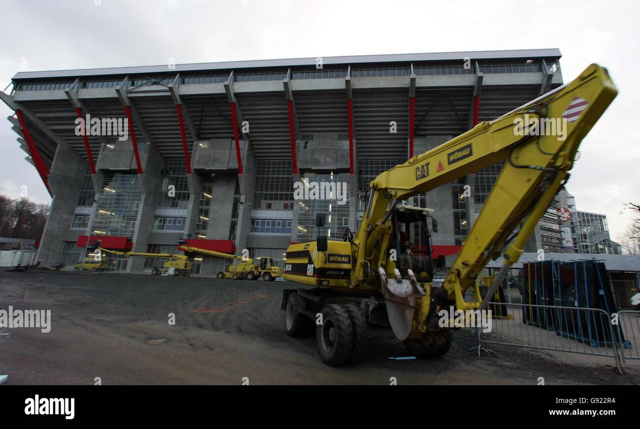 SOCCER Stadium - Stock Image