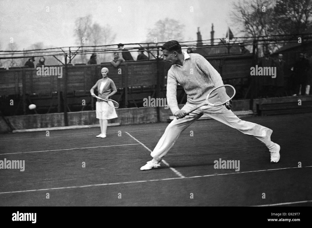Tennis - HW (Bunny) Austin - Stock Image