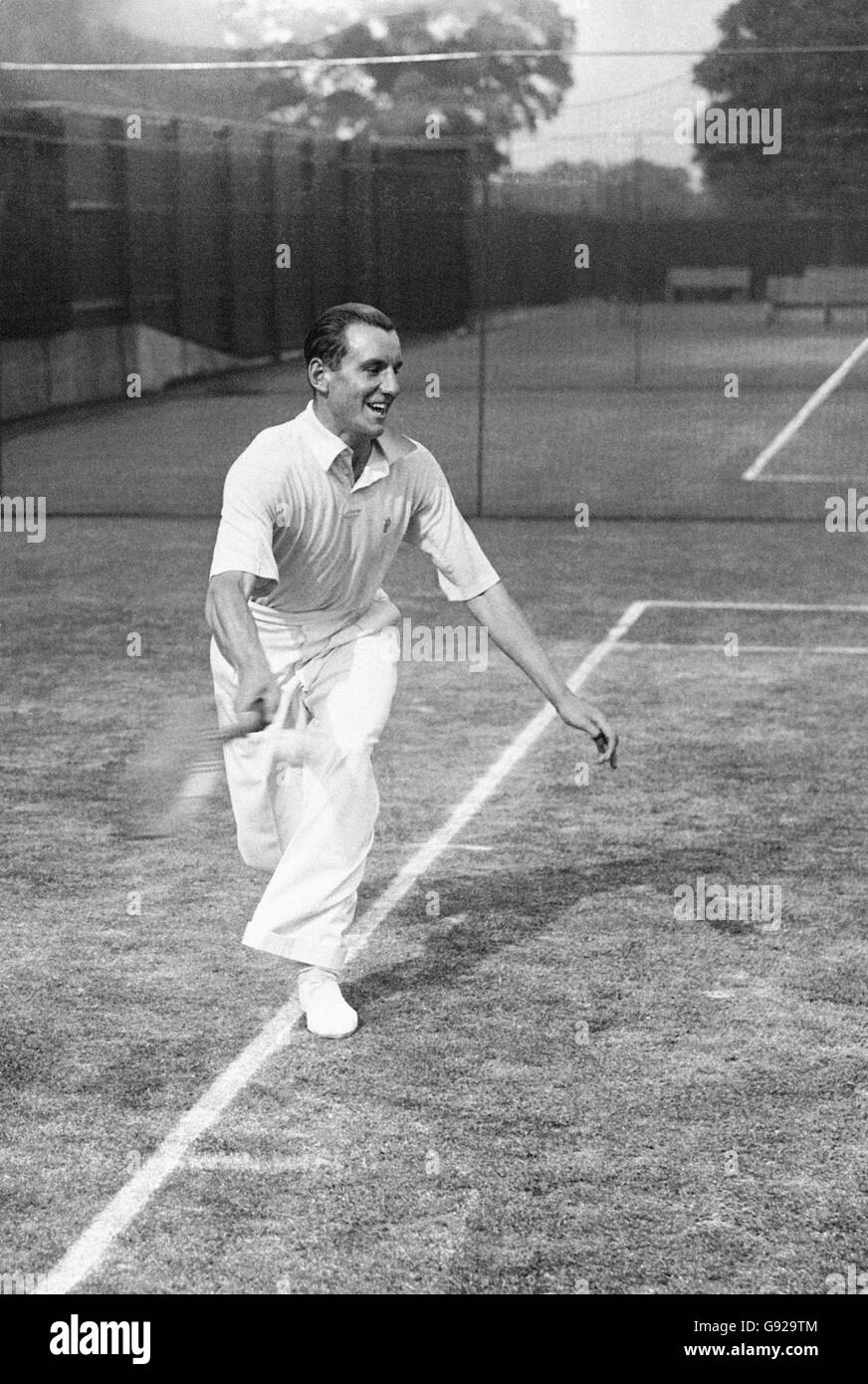 Tennis - Fred Perry - Stock Image