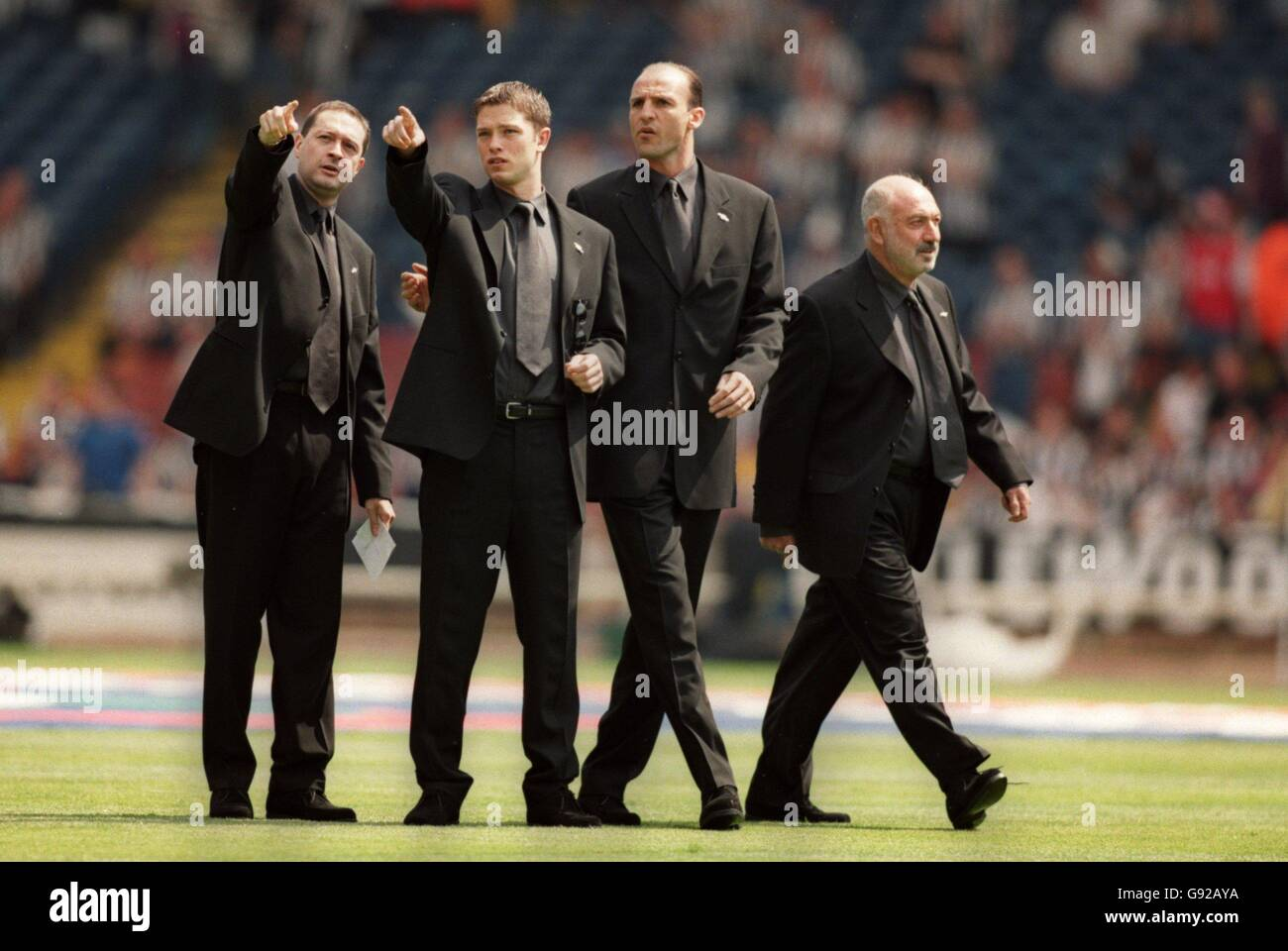 Soccer Littlewoods Fa Cup Final Arsenal V Newcastle United Stock Photo Alamy