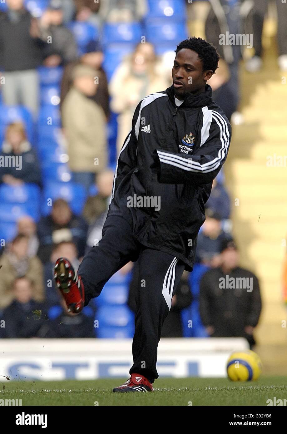 Soccer - FA Barclays Premiership - Tottenham Hotspur v Newcastle United - White Hart Lane - Stock Image
