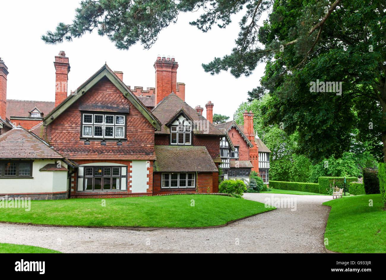 Wightwick Manor  Wolverhampton West Midlands England UK - Stock Image