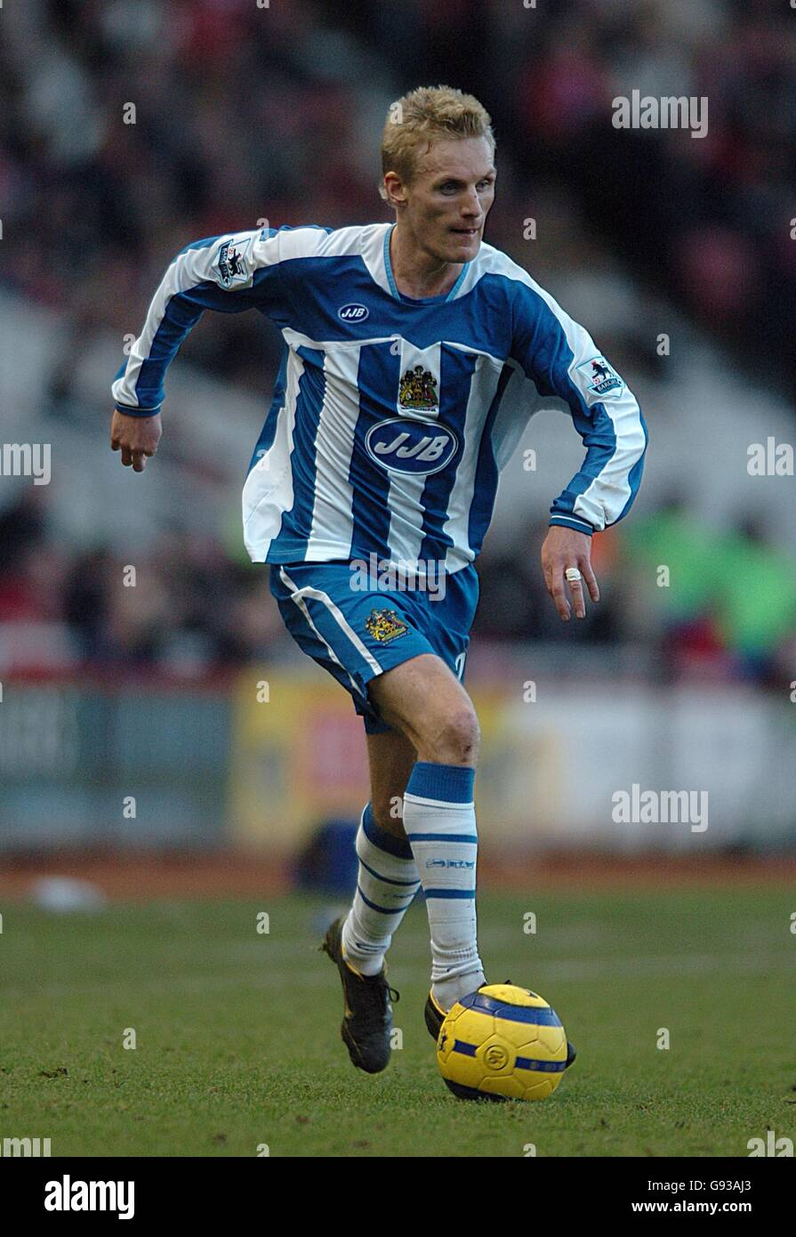 Soccer - FA Barclays Premiership - Middlesbrough v Wigan Athletic - Riverside Stadium - Stock Image