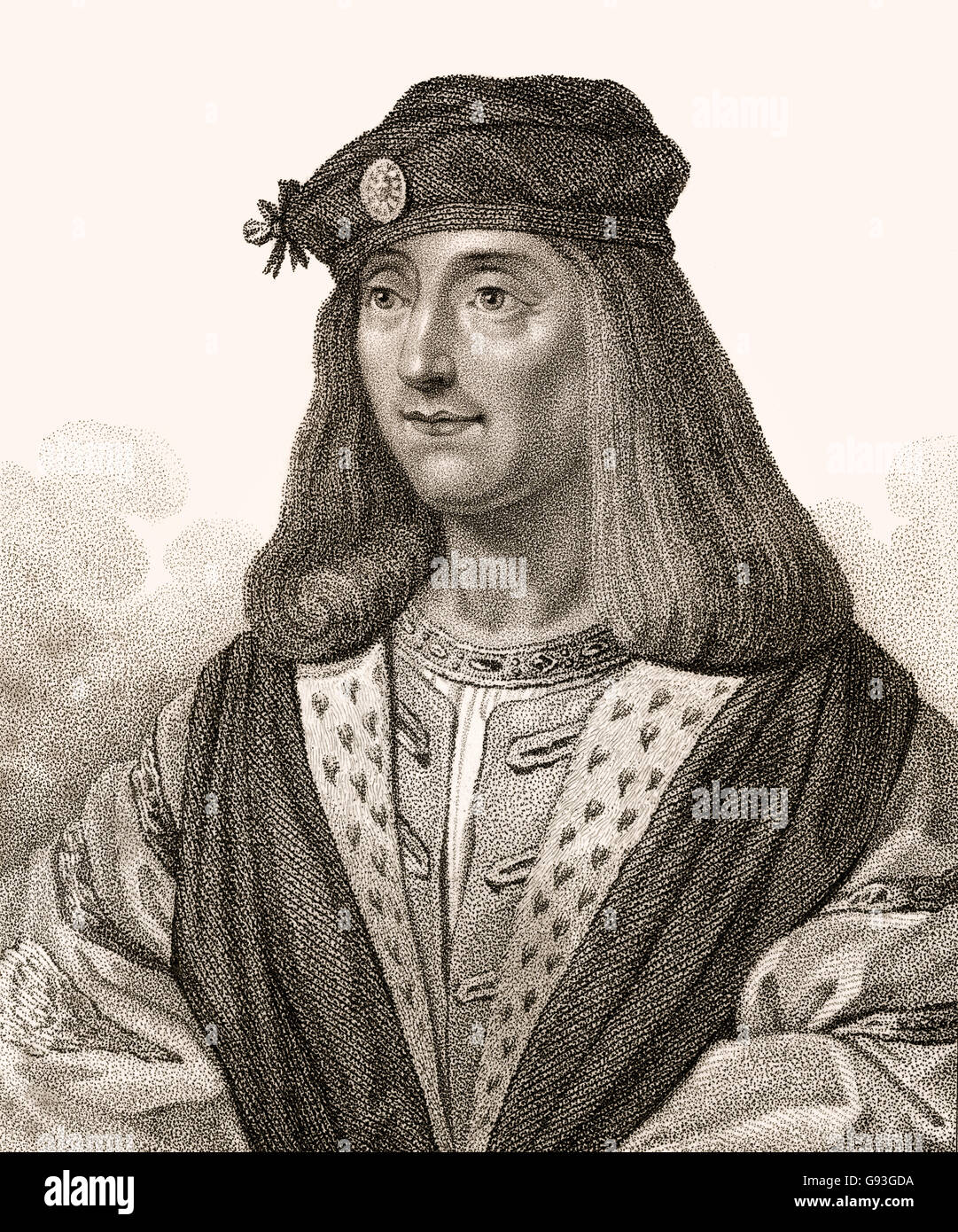 James IV, 1473-1513, King of Scots - Stock Image