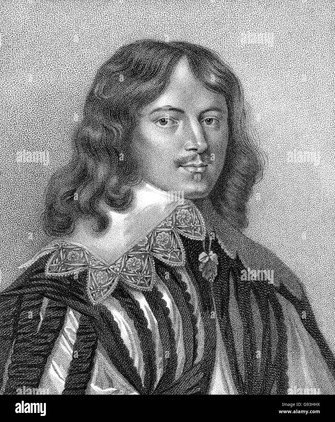 Lucius Cary, 2nd Viscount Falkland, 1610-1643, an English author and politician Stock Photo
