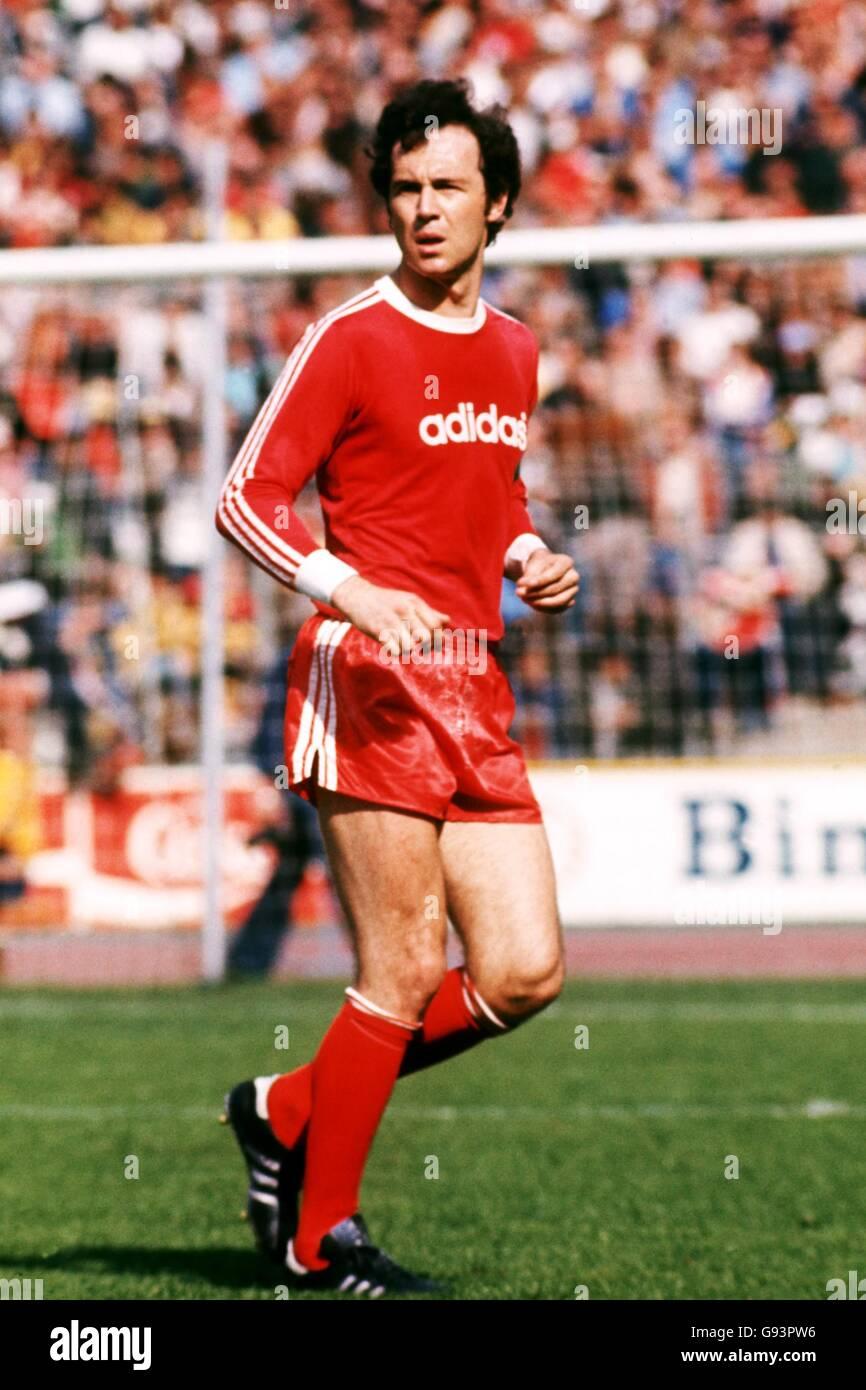 Bayern Munich Franz Beckenbauer German Soccer Stock Photo