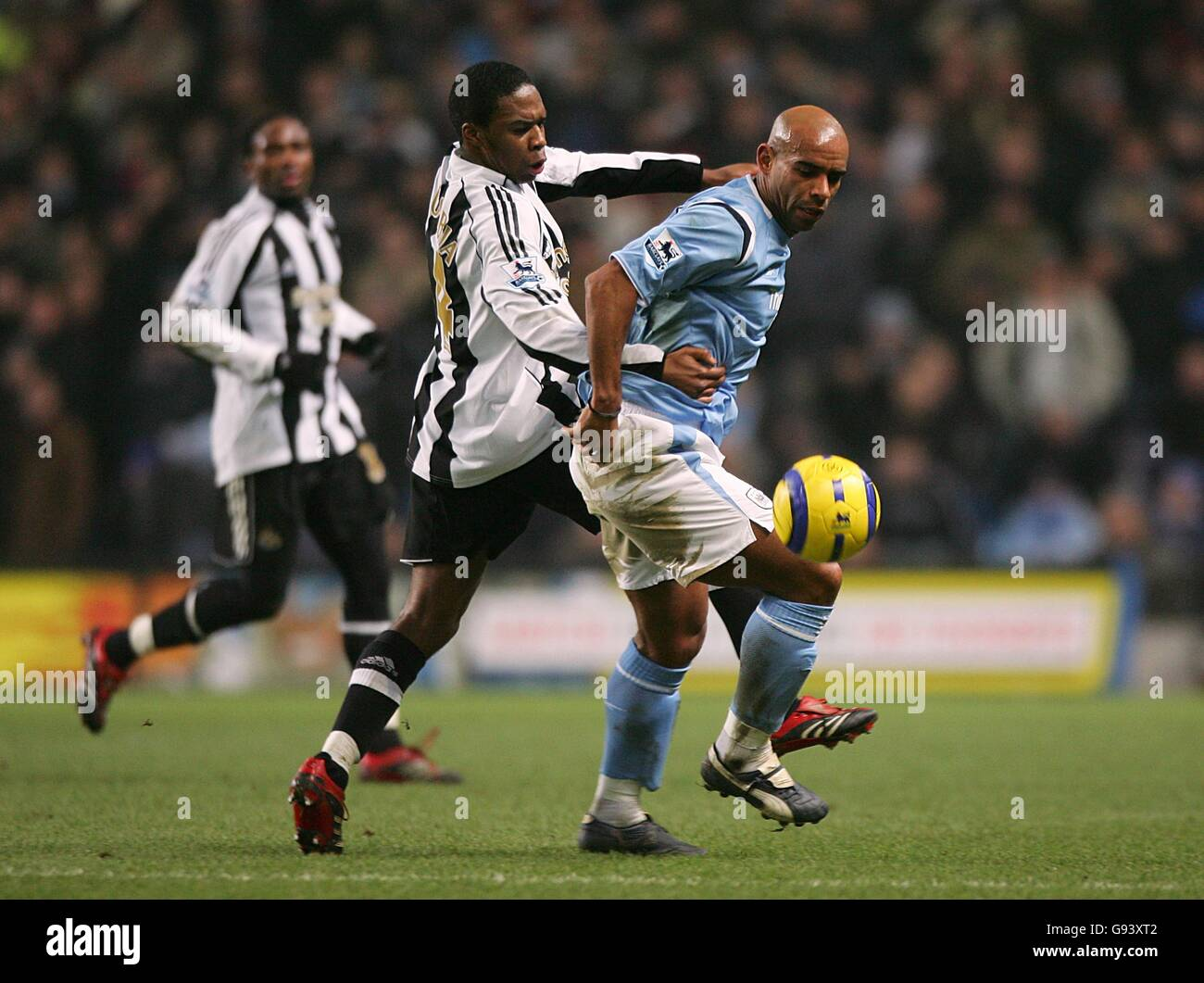 Soccer - FA Barclays Premiership - Manchester City v Newcastle United - City of Manchester Stadium - Stock Image