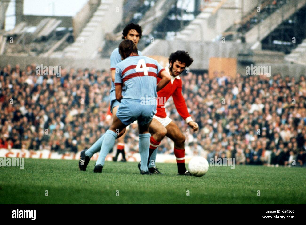 Soccer Football League Division One Manchester United V West Ham Stock Photo Alamy