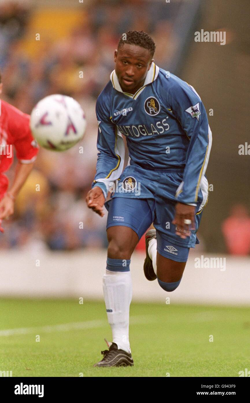 Soccer - FA Carling Premiership - Chelsea v Middlesbrough - Stock Image