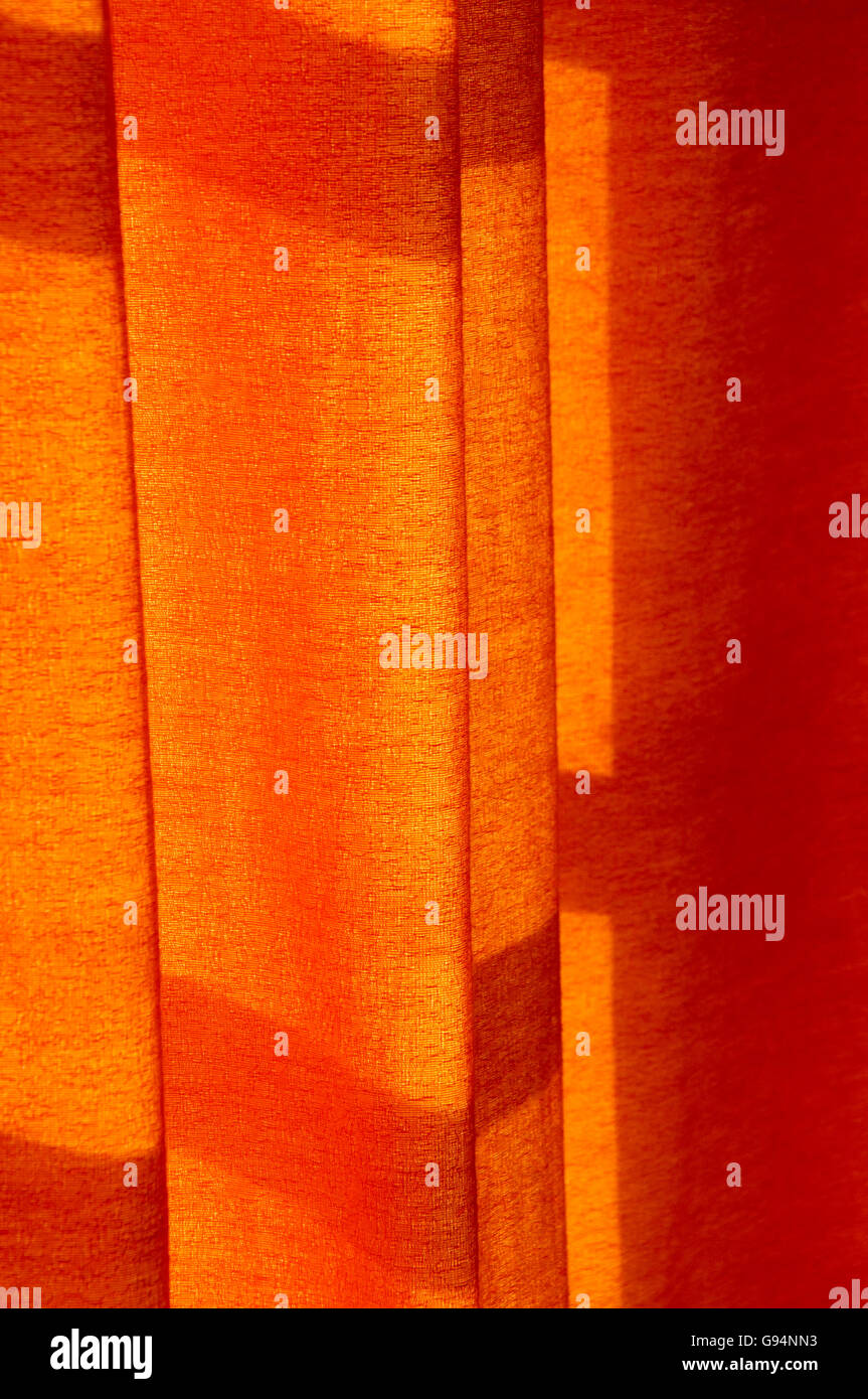Abstract Background of Curtain Shadows - Stock Image