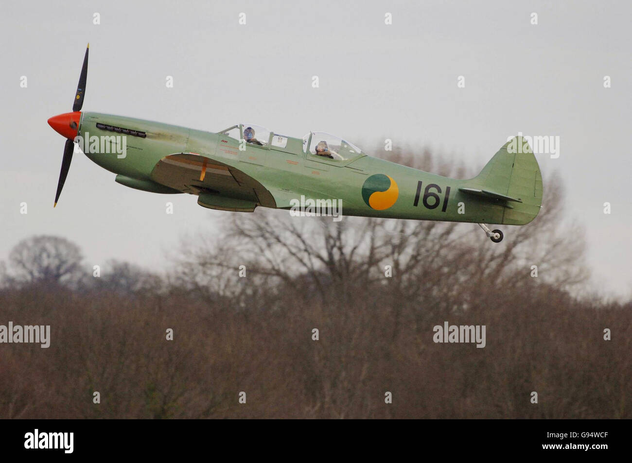 HERITAGE Spitfire - Stock Image