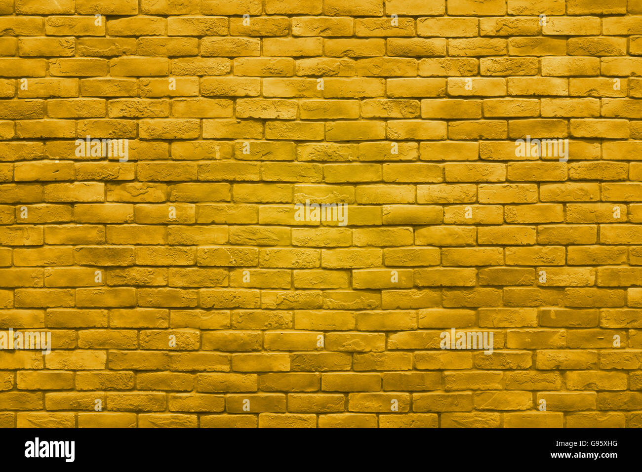 yellow gold brick wall texture color background Stock Photo ...