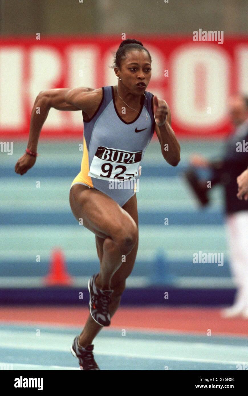 Athletics - BUPA Indoor Grand Prix - Birmingham - Stock Image