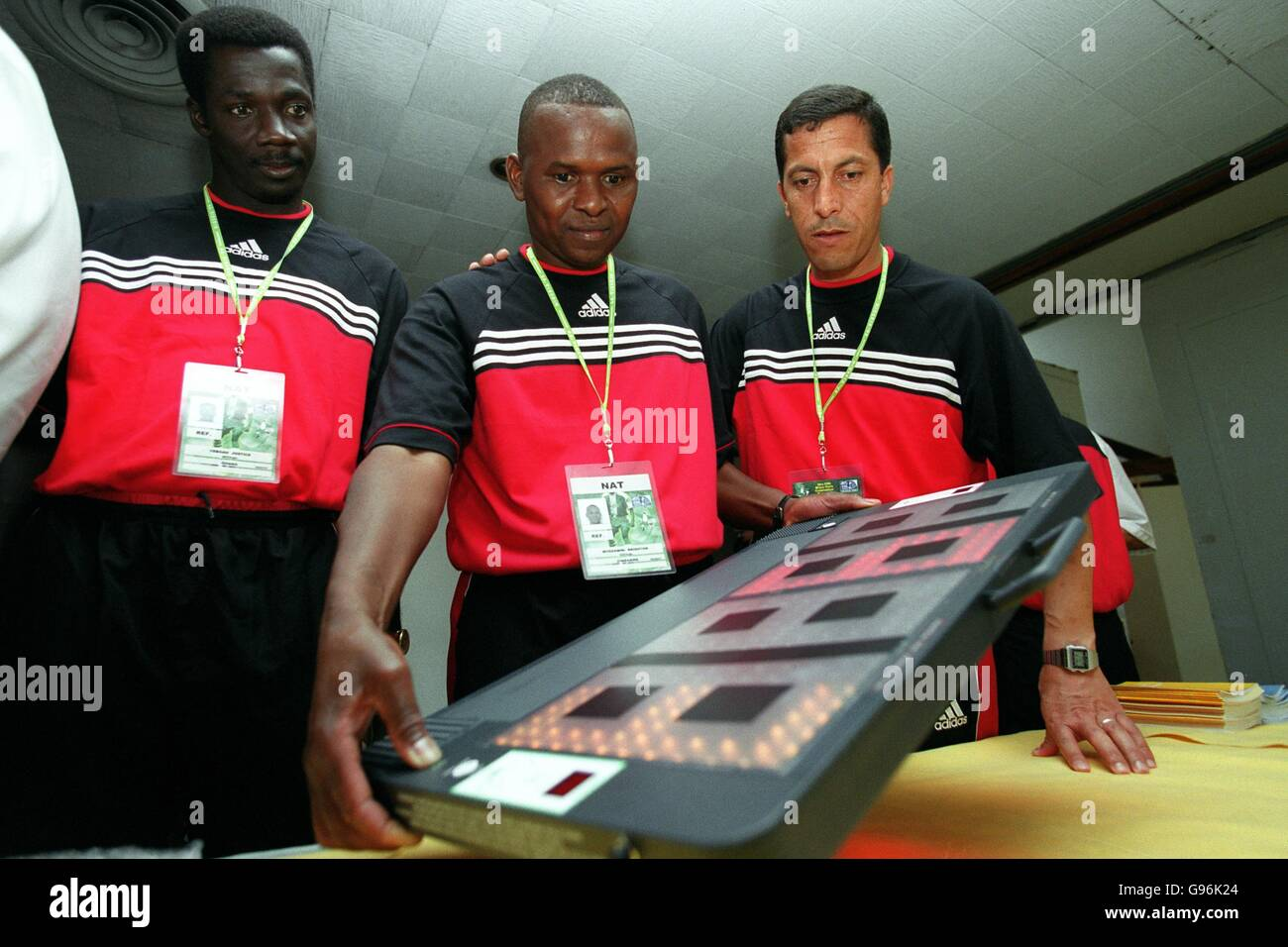 Soccer - FIFA World Youth Championships - Referees Testing - Stock Image