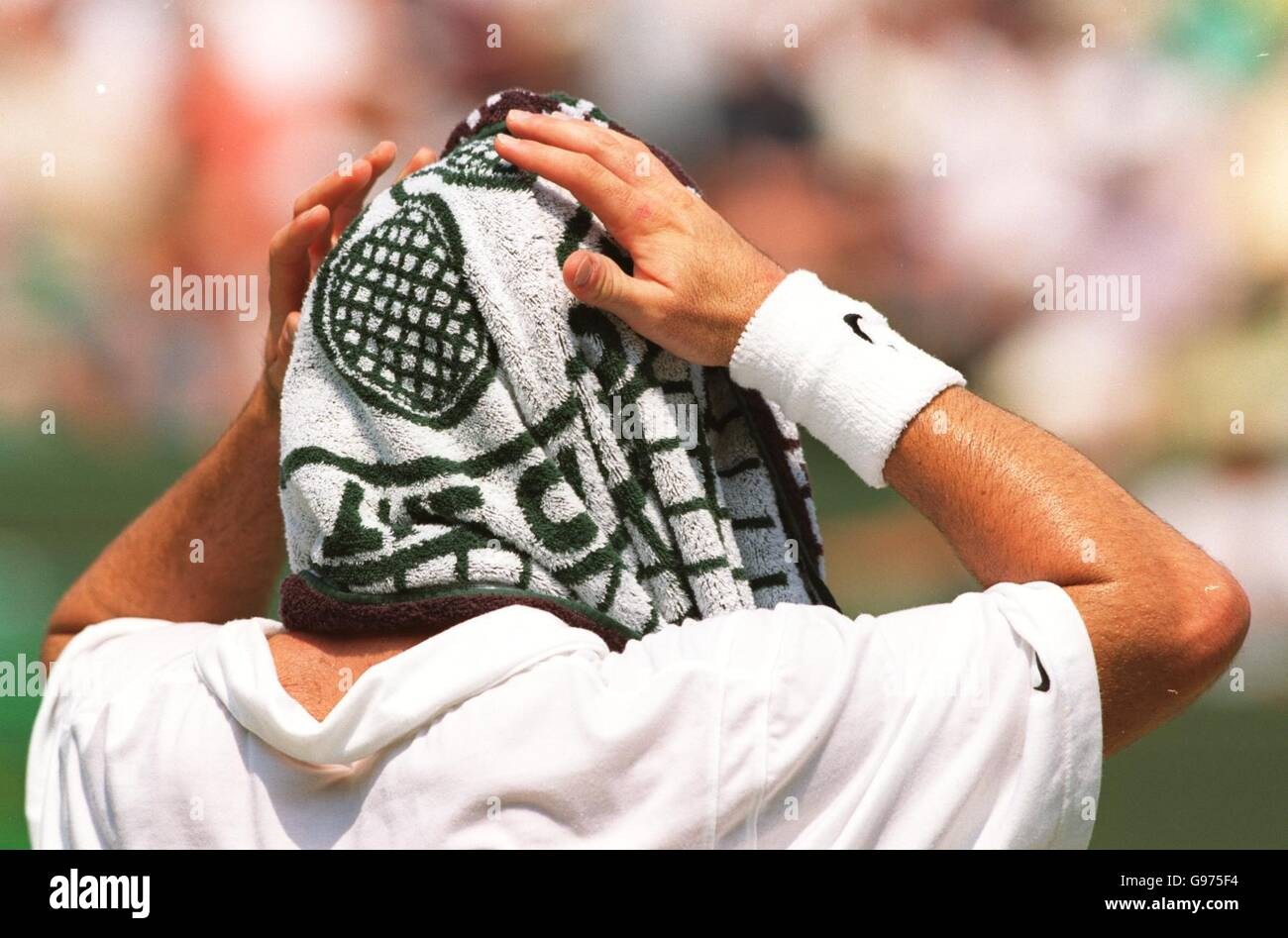 huge selection of 29843 c49ef Tennis - Wimbledon Championships - Mens Singles - Third Round - Andre  Agassi v Alberto Martin