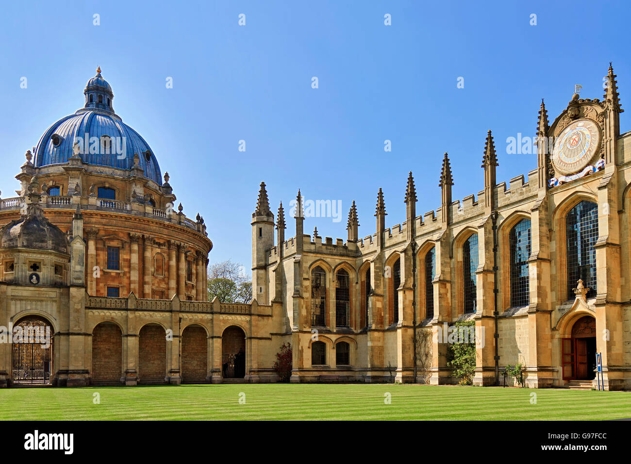 UK Oxford All Souls College - Stock Image