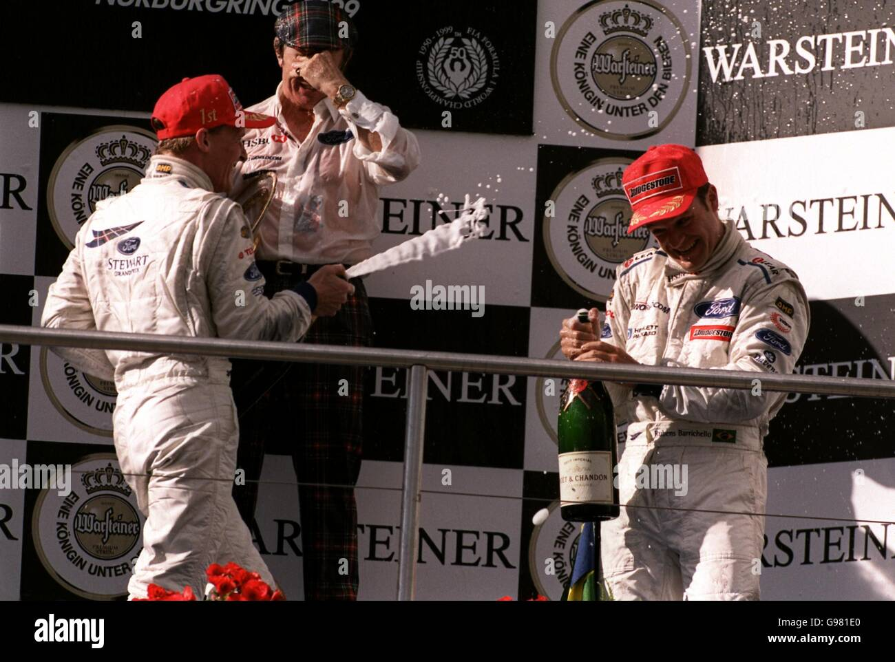 Formula One Motor Racing - European Grand Prix - Race Day - Stock Image