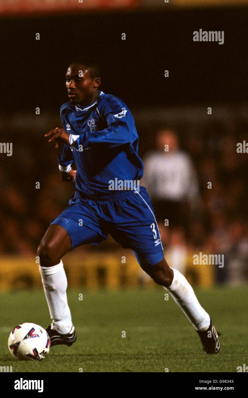 Soccer - FA Carling Premiership - Chelsea v West Ham United - Stock Image