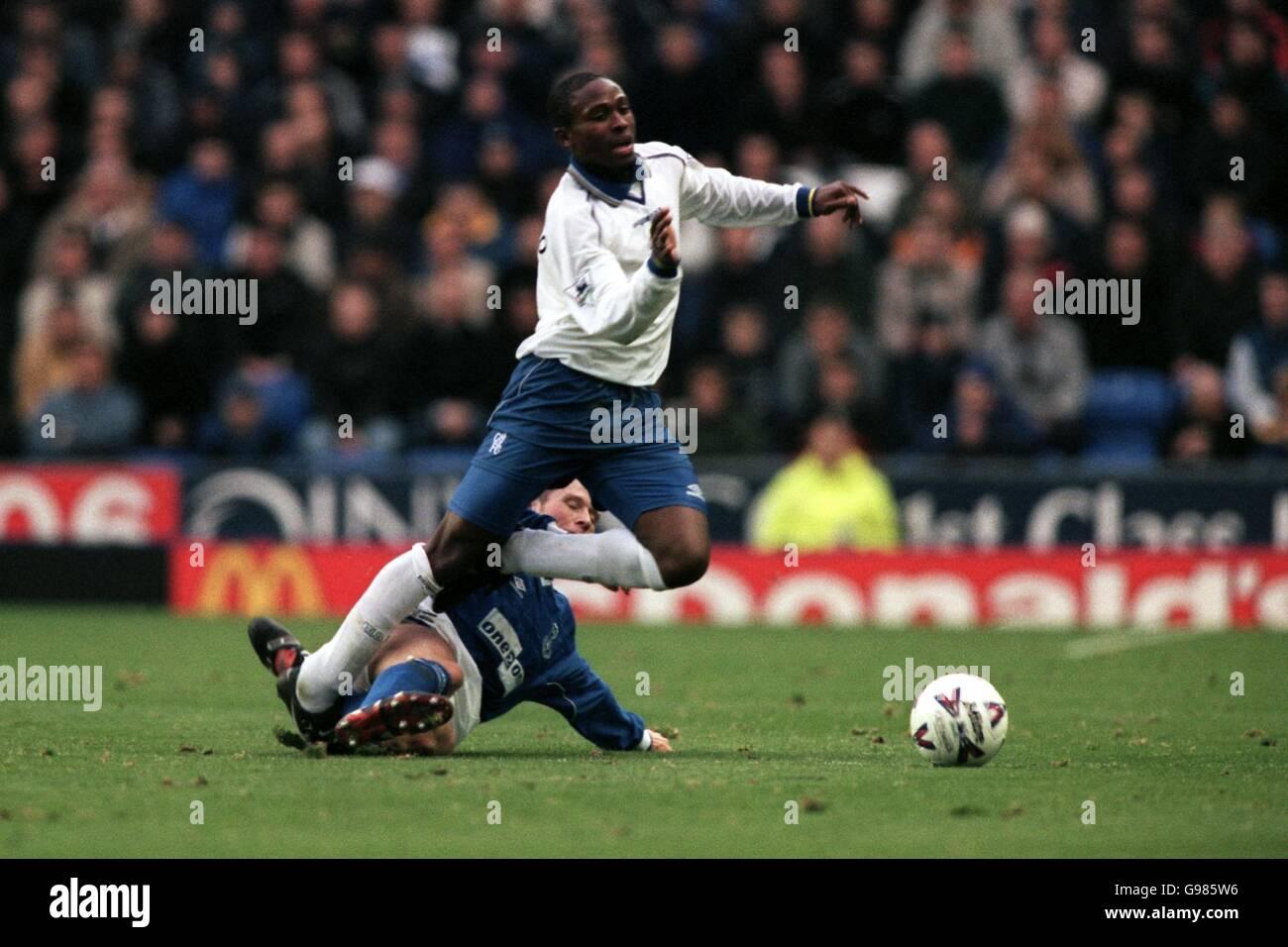 Soccer - FA Carling Premiership - Everton v Chelsea - Stock Image