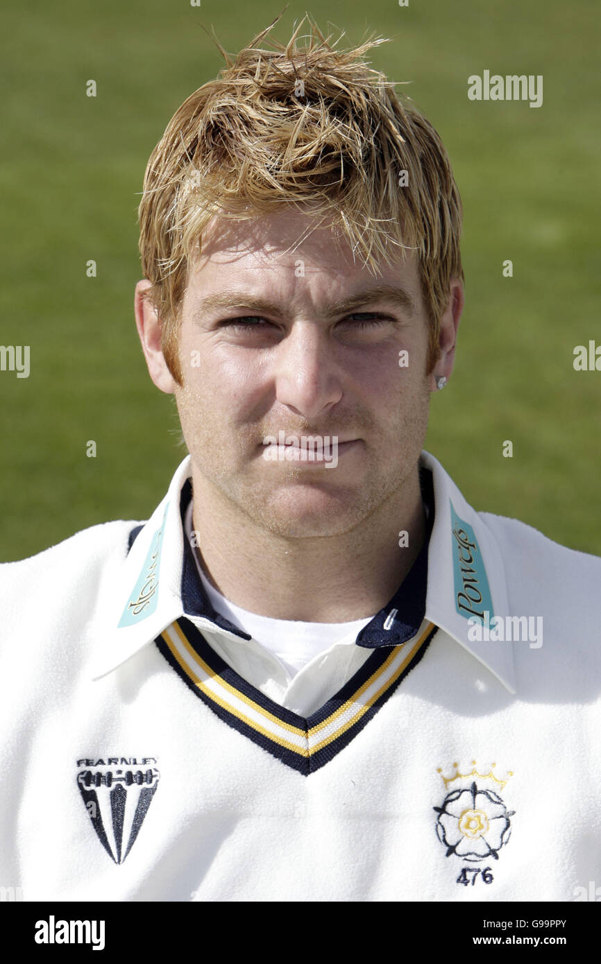Cricket - Hampshire County Cricket Club - 2006 Photocall  - The Rosebowl - Stock Image