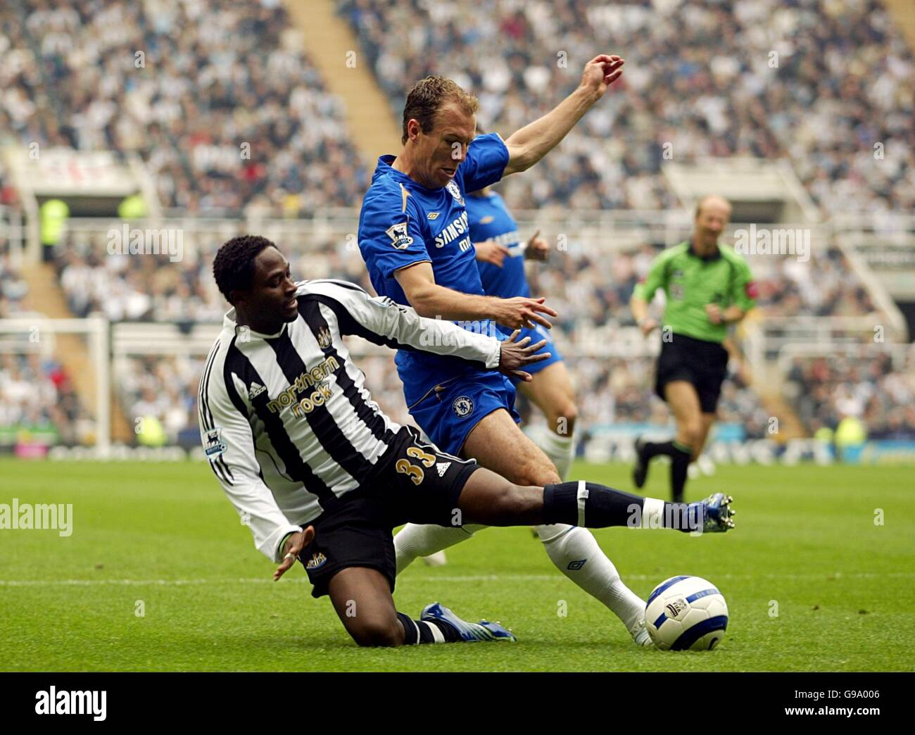 Soccer - FA Barclays Premiership - Newcastle United v Chelsea - St James Park - Stock Image