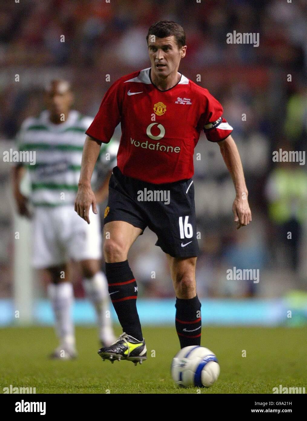 8d3265233ed Soccer - Roy Keane Testimonial - Manchester United v Celtic - Old Trafford  - Stock Image