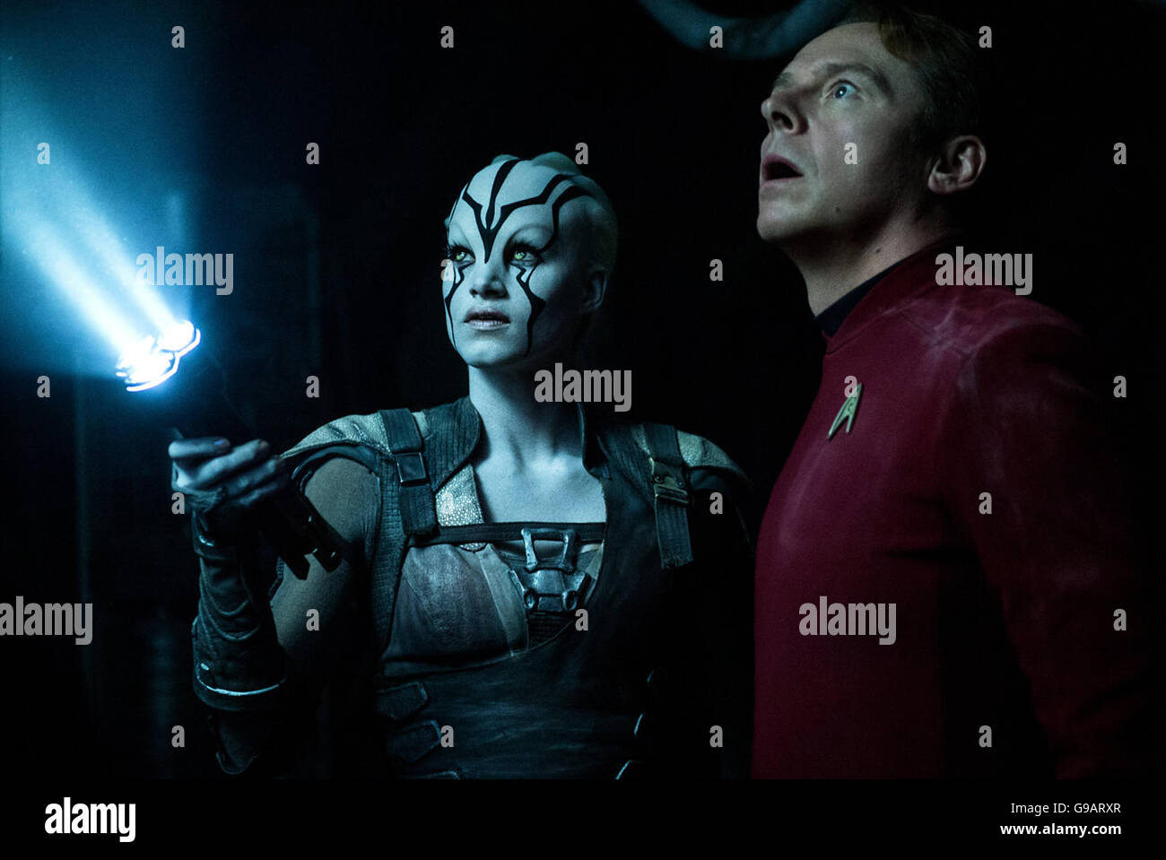 Star Trek Beyond is an upcoming American science fiction film and the sequel to Star Trek Into Darkness (2013). - Stock Image