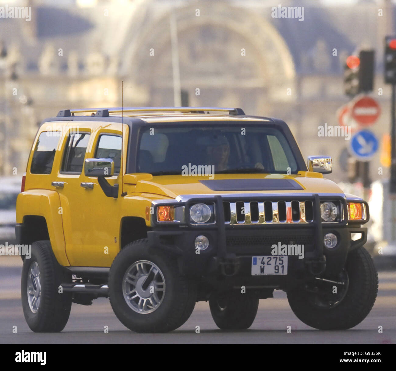 HUMMER H2  2003 by AM General - Stock Image