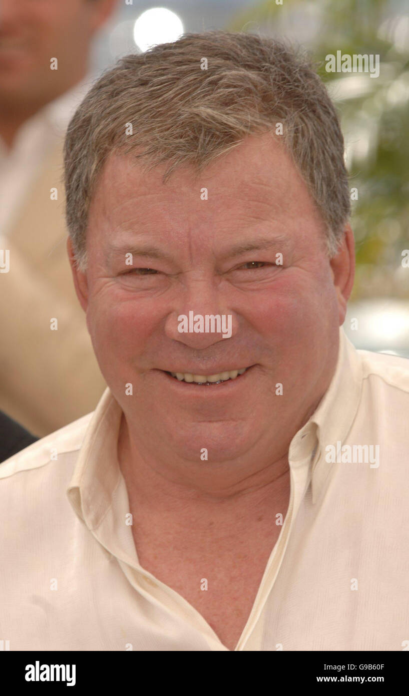 AP OUT. William Shatner,who provides the voice of Ozzie, is seen at a p/call for his new film Over The Hedge , a - Stock Image