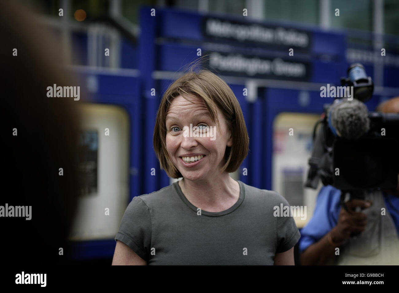 Solicitor Kate Roxburgh Speaks To The Media As She Leaves Paddington Green Police Station London