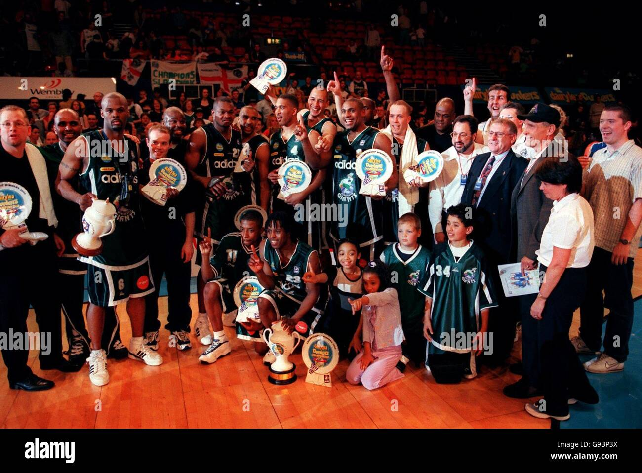 Basketball - Dairylea Dunkers Championship - Final - Manchester Giants v Birmingham Bullets - Stock Image