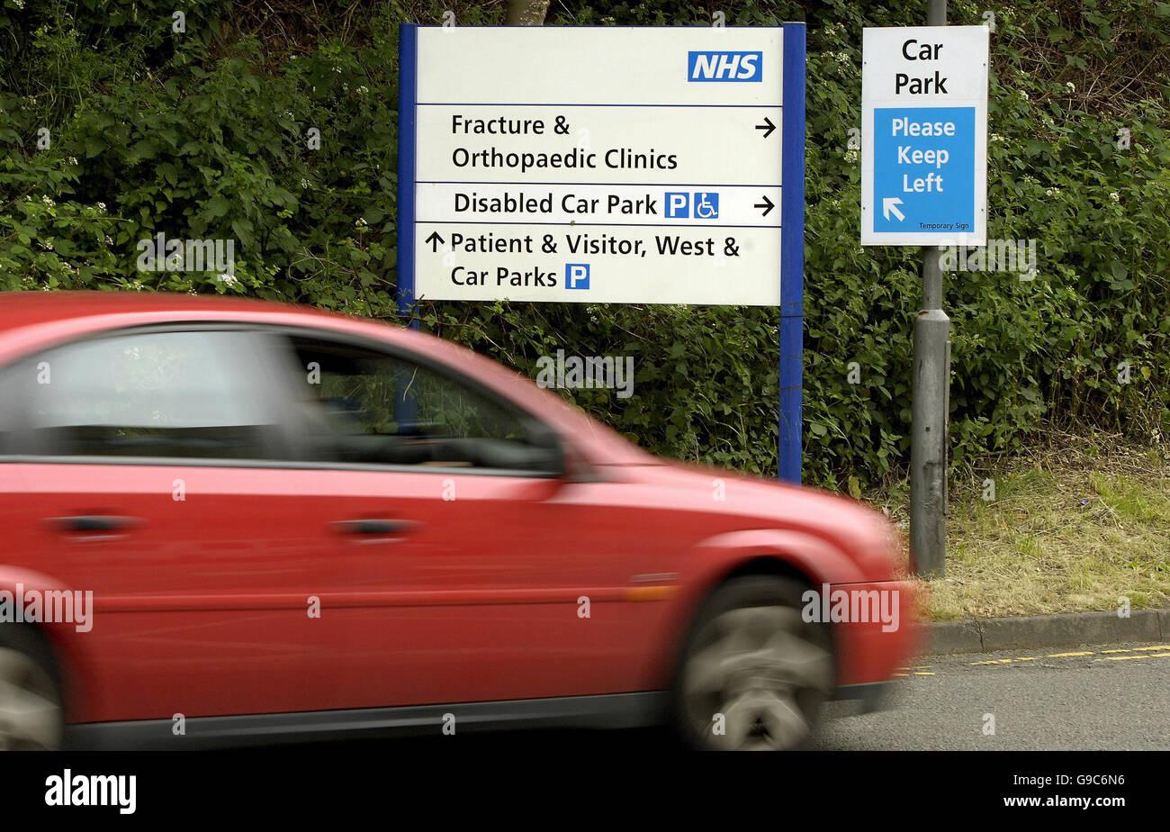 Queens Medical Centre Nottingham Car Park