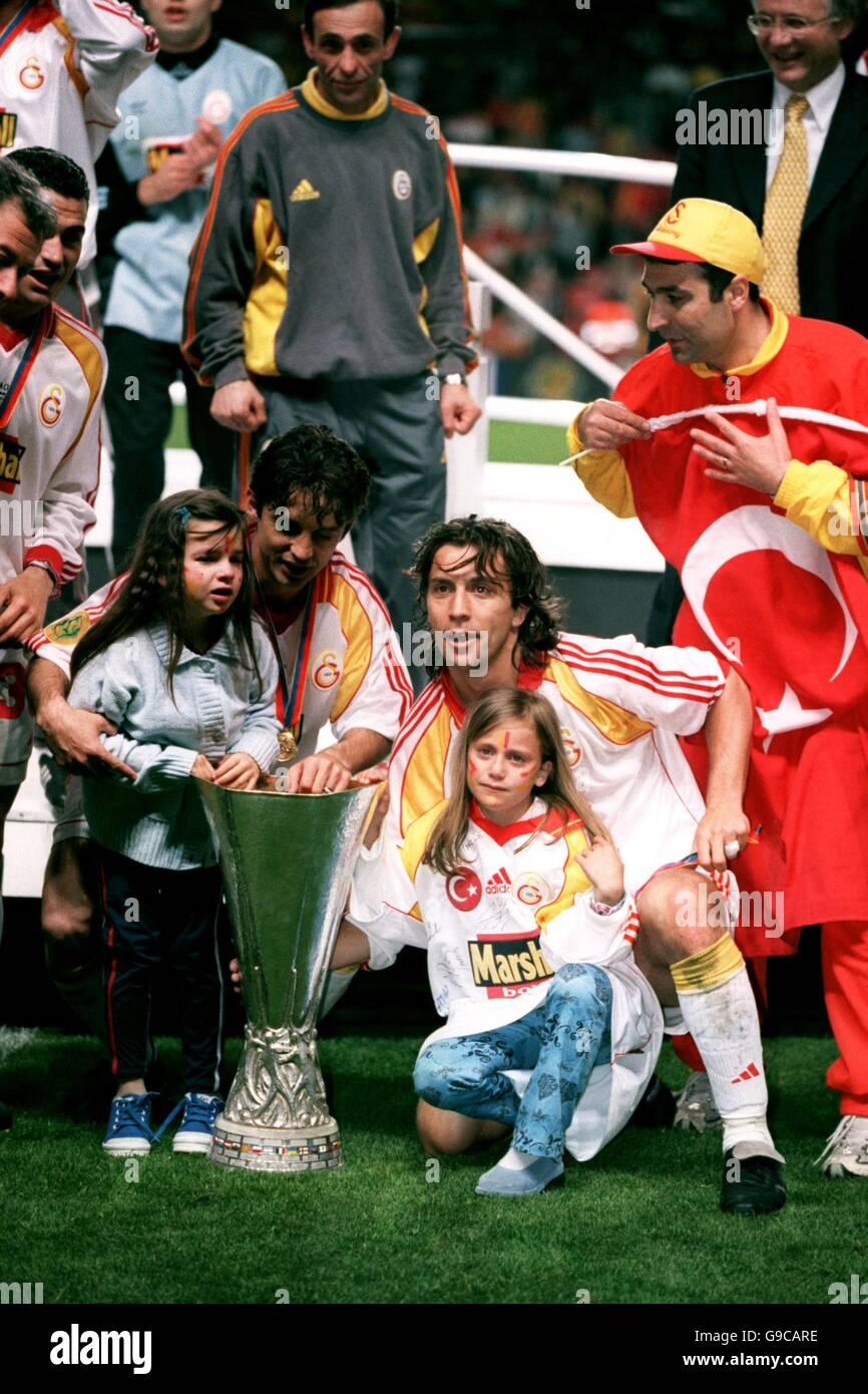 Soccer - UEFA Cup - Final - Galatasaray v Arsenal - Stock Image