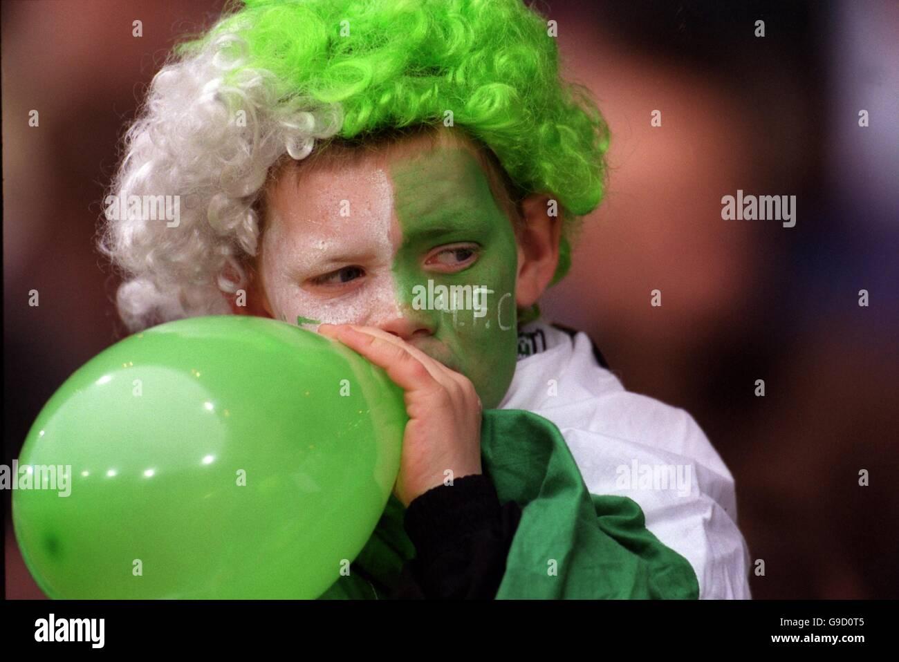 Soccer - Tennants Scottish Cup - Semi Final - Hibernian v Aberdeen - Stock Image